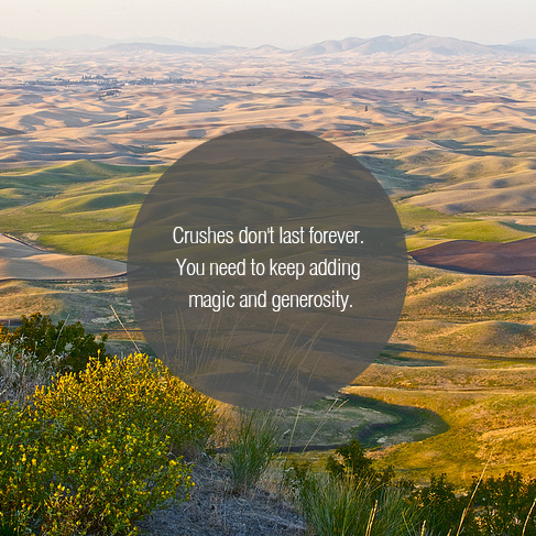 Image by Linda Tanner, Quote from Seth Godin